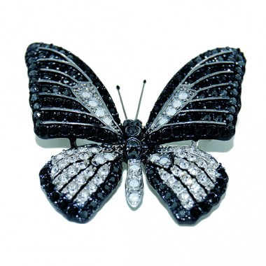 Broche Mariposa Blanca