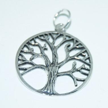 árbol árbol De La Vida Colgante En Plata De Ley